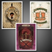 Fantastic Beasts Poster Set Art Prints #01