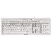 Cherry G85-23200 STREAM 3.0 Wired USB Keyboard Pale Grey UK Layout