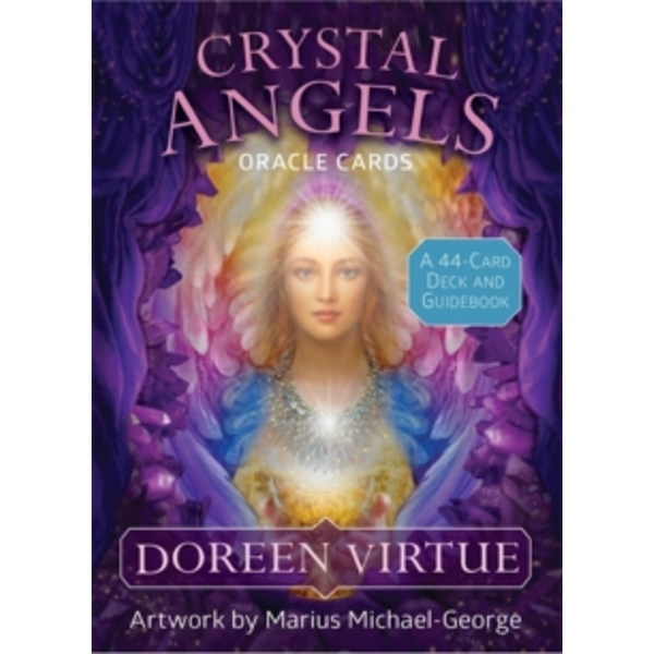 Crystal Angels Oracle Cards : A 44-Card Deck and Guidebook