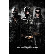 The Dark Knight Rises Three Maxi Poster