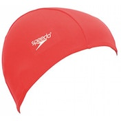 Speedo Polyester Cap Red - Adult
