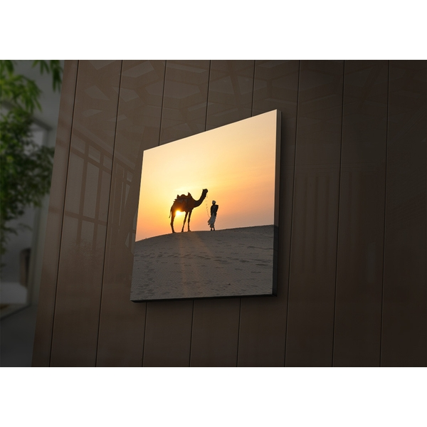 2828?ACT-42 Multicolor Decorative Led Lighted Canvas Painting