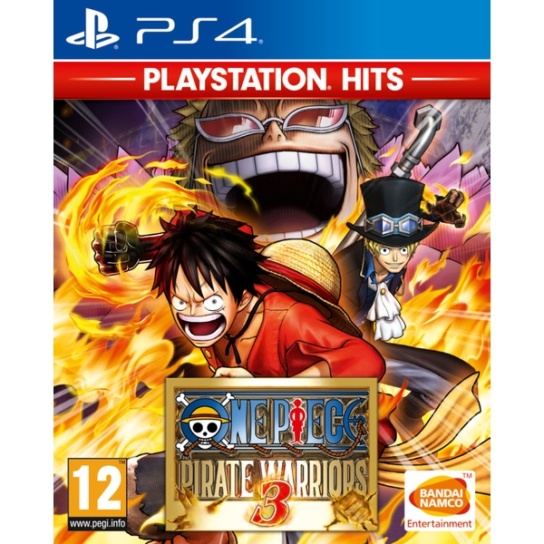 One Piece Pirate Warriors 3 PS4 Game (PlayStation Hits)