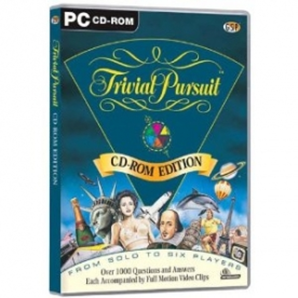 Ex-Display Trivial Pursuit Game PC Used - Like New