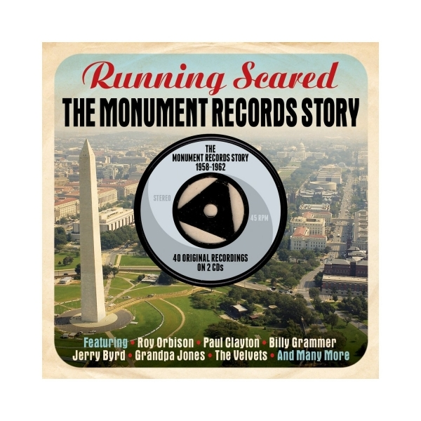 Various Artists - Running Scared: The Monument Records Story 1958-1962 CD