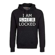 Sherlock - I am Sherlocked Men's XX-Large Pullover Hoodie - Black