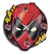 Deadpool Acrylic Wall Clock