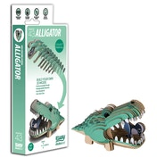 EUGY Alligator 3D Craft Kit