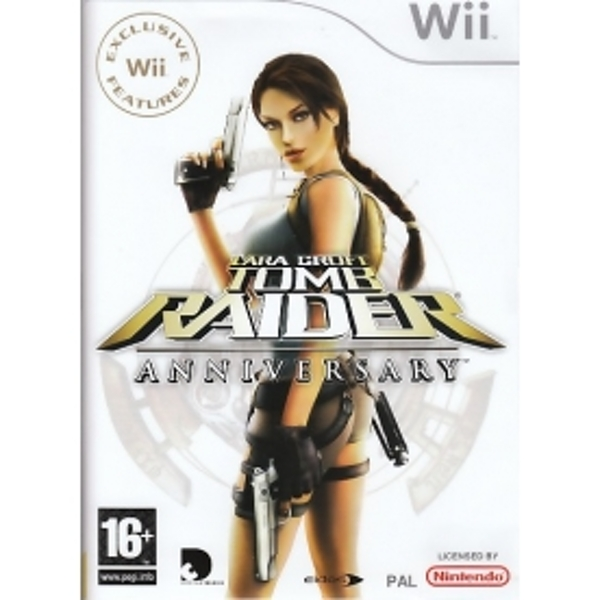 Lara Croft Tomb Raider Anniversary Game Wii