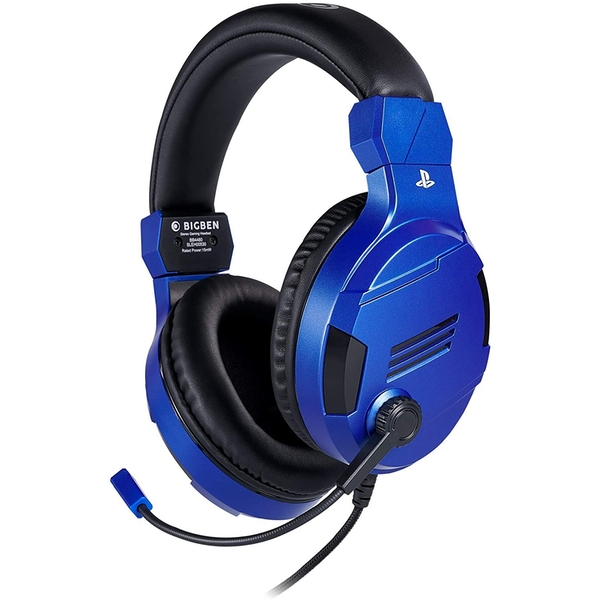 Official Playstation Gaming Headset V3 Blue for PS4