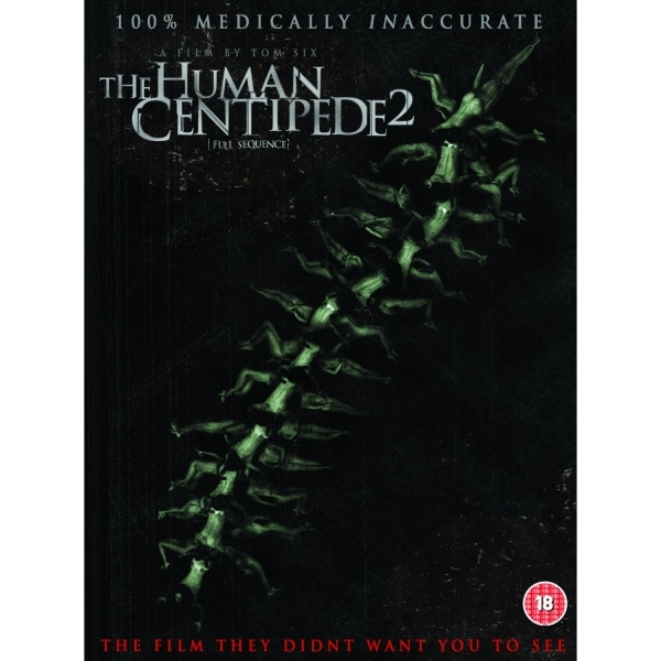 The Human Centipede 2  Full Sequence DVD
