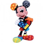 Mickey Mouse with Heart Disney Britto Mini Figurine