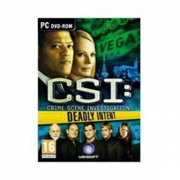 CSI Crime Scene Investigation Deadly Intent Game PC