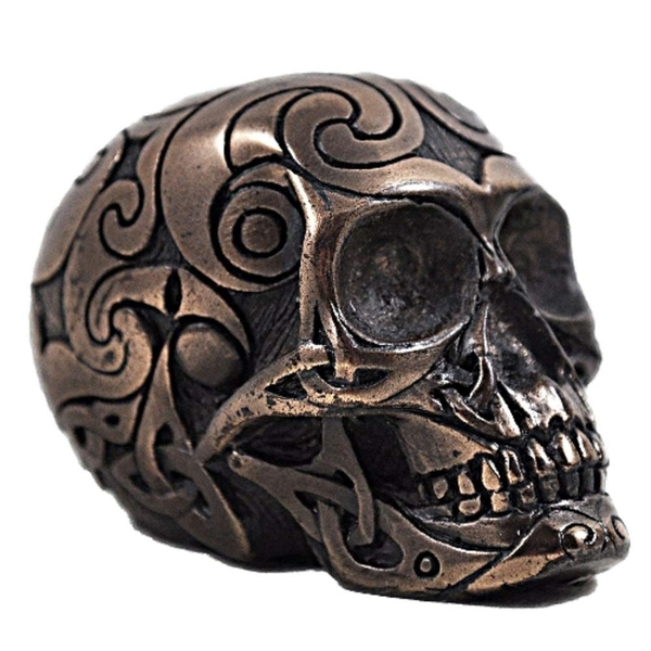 Celtic Skull Bronze (Small)