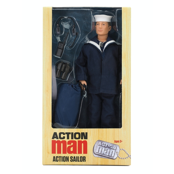Action Man Sailor Deluxe Action Figure - Image 1