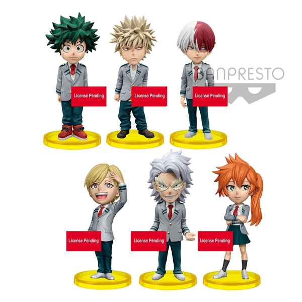 My Hero Academia WCF Chibi Vol 4 (1 Random Supplied) Collectable 7cm Figure