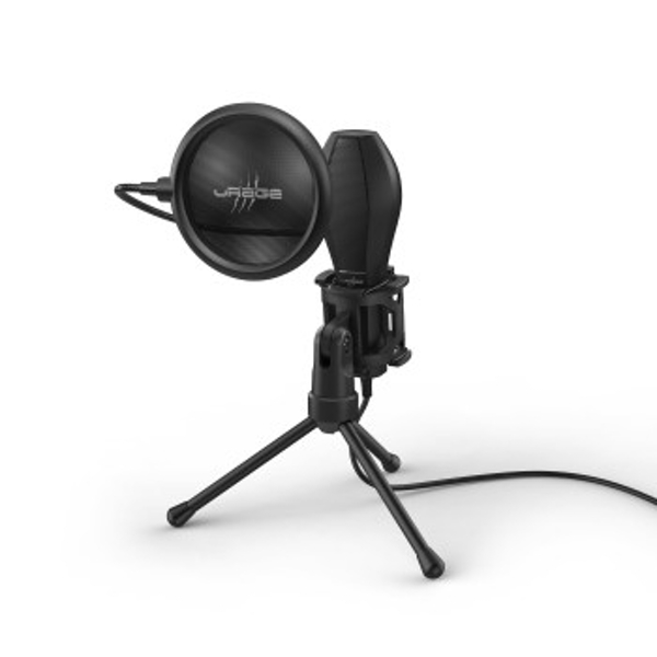 Image of Hama Stream 400 Plus PC microphone Black Stream 400 Plus, PC microphone, -38 dB, 50-16000 Hz, 2200, Omnidirectional, Wired...