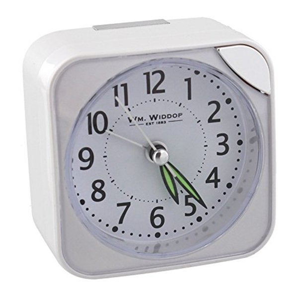 Square Alarm Clock - White