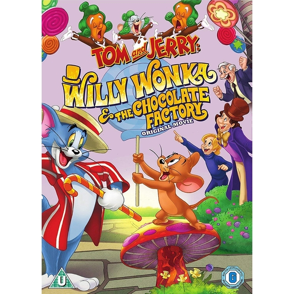 Tom And Jerry: Willy Wonka & The Chocolate Factory DVD
