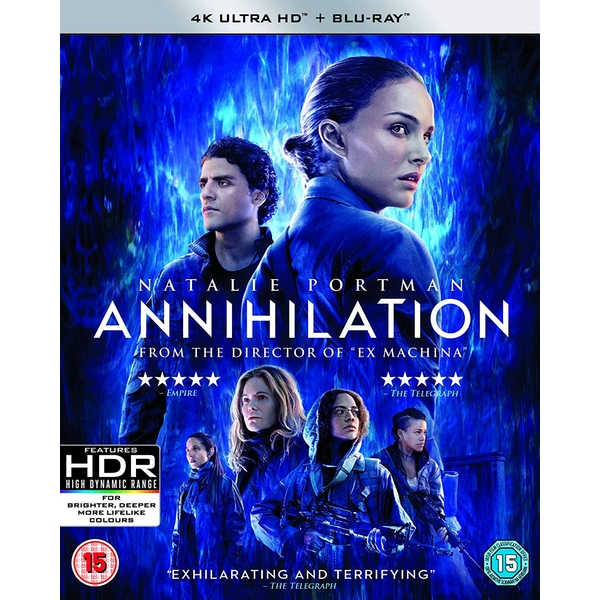 Annihilation 4K UHD Blu-ray