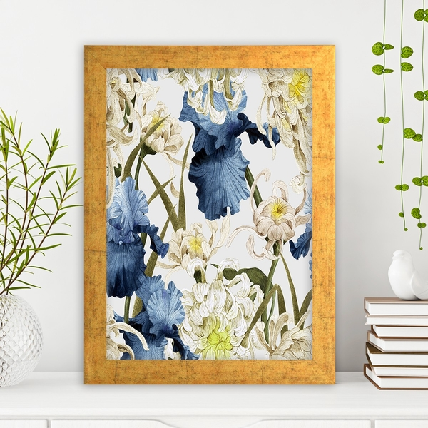 AC251838712 Multicolor Decorative Framed MDF Painting