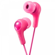 JVC HAFX7P Gumy Plus In Ear Headphones Pink
