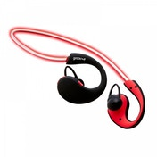 Groov-e Action Wireless Bluetooth Sports Headphones with LED Neckband Red
