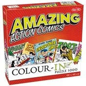 Colour in Comics 1000 Piece Jigsaw Puzzle
