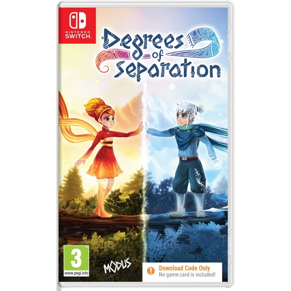Degrees of Separation Nintendo Switch Game [Code in a Box]
