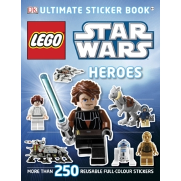 LEGO (R) Star Wars Heroes Ultimate Sticker Book by DK (Paperback, 2011)