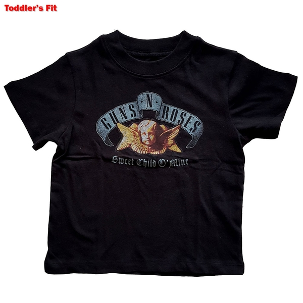 Guns N' Roses - Sweet Child O' Mine Kids 12 Months T-Shirt - Black
