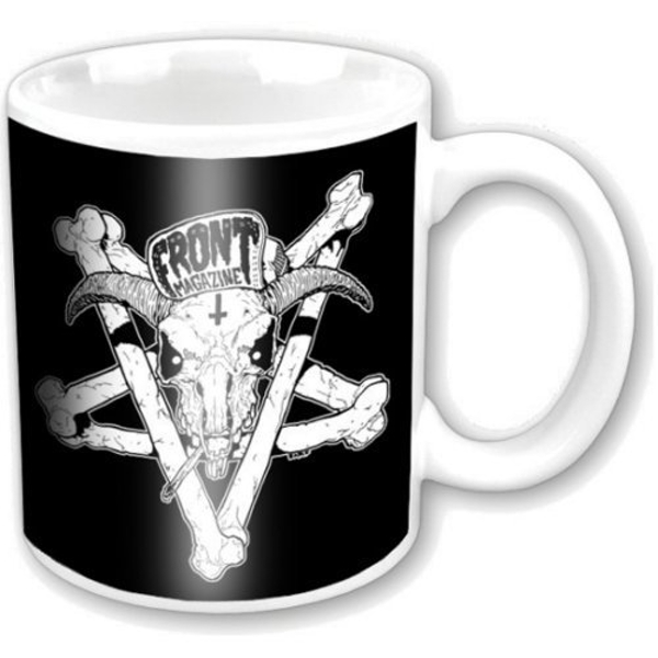Front Magazine - Pentagram Black on Black Boxed Standard Mug