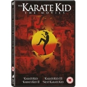 The Karate Kid 1 to 4 Box Set DVD