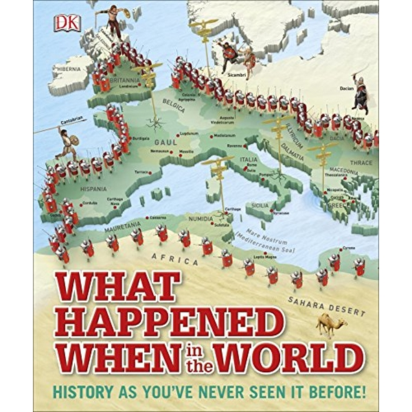 What Happened When in the World by DK (Hardback, 2015)