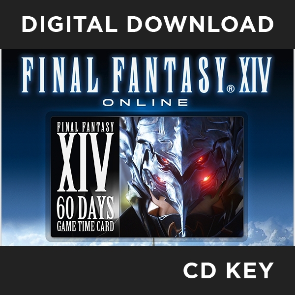 Final Fantasy XIV 14 Online Subscription 60 Day Timecard PC CD Key Download