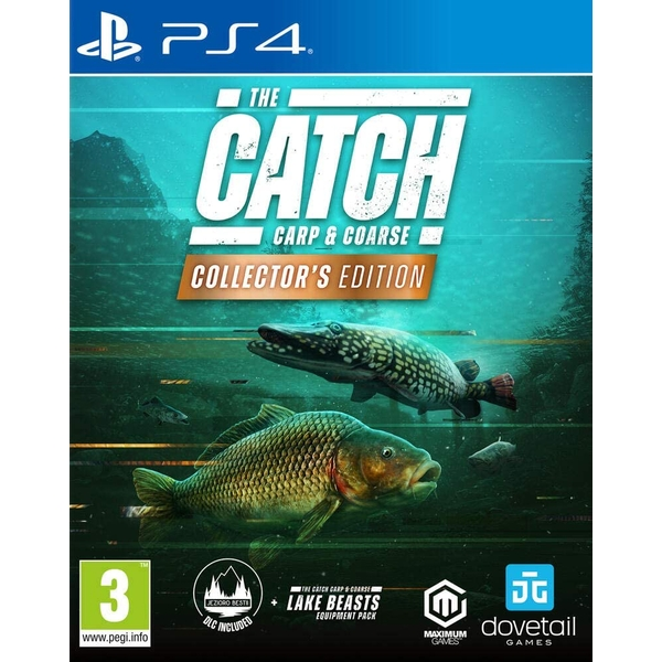 The Catch Carp & Coarse Collector's Edition PS4 Game