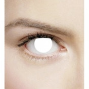 Blind White 1 Month Halloween Coloured Contact Lenses (MesmerEyez XtremeEyez)