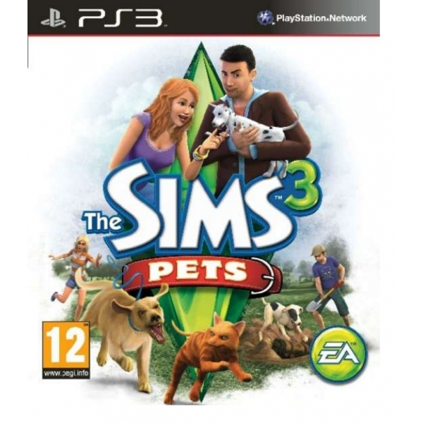 The Sims 3 Pets Game PS3