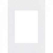 Premium Passepartout Smooth White 40x50cm