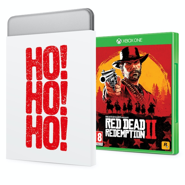 Red Dead Redemption 2 Xbox One Game + Christmas Gift Tin