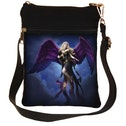 Dark Messenger Shoulder Bag
