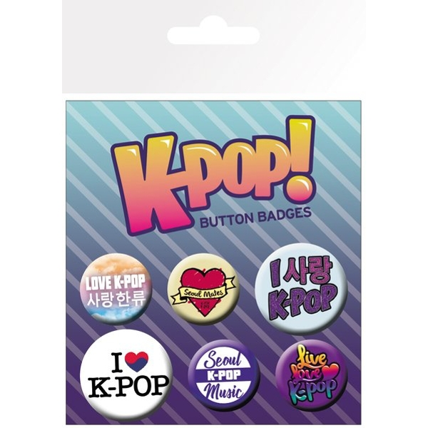 KPop Mix Badge Pack