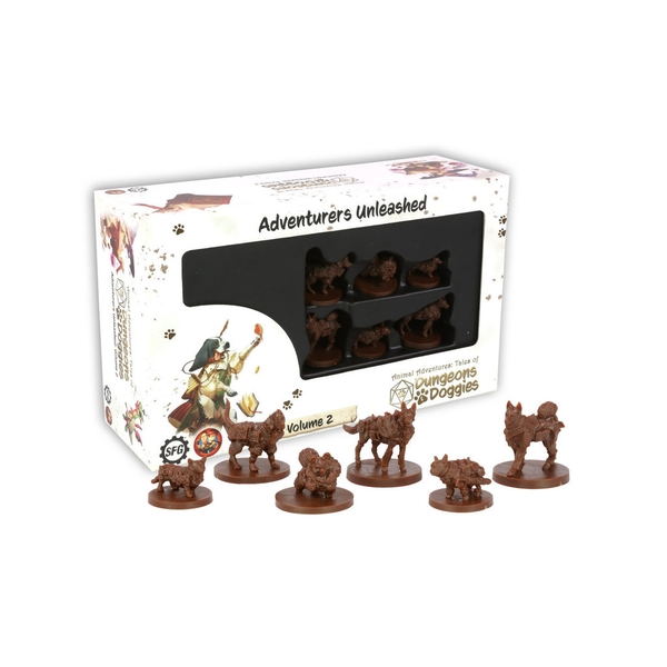 Dungeons and Doggies Miniatures Box 2