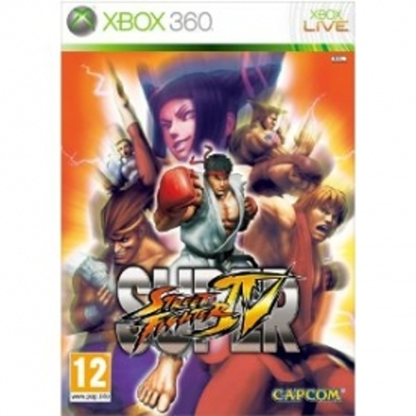 Ex-Display Super Street Fighter IV Game Xbox 360 Used - Like New