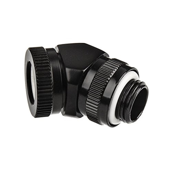 Phanteks 12mm Hard Tube Rotary Fitting 45 G1/4 Satin Black
