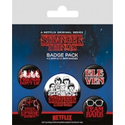 Stranger Things - Characters Badge Pack