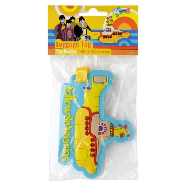 Yellow Submarine Luggage Tag