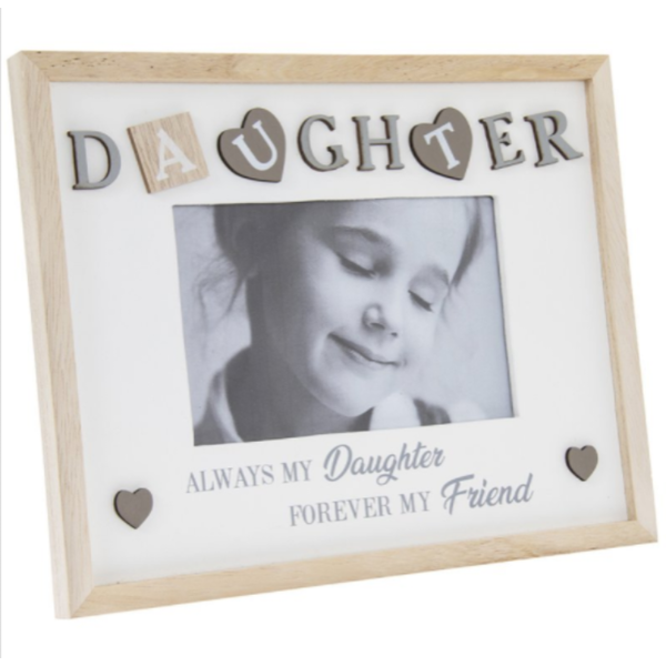 "Sentiments Frame Daughter 4X6"" By Lesser & Pavey"