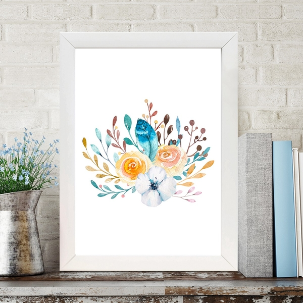 BC10355637852 Multicolor Decorative Framed MDF Painting
