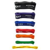 Resistance Loop Bands Crossfit Exercise Strength Weight Training XFit FullSet (XX-Light to XX-Heavy)